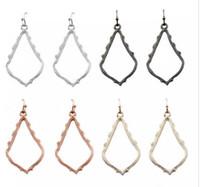 Wholesale christmas earrings for sale - Christmas Gift Kendra Style Sophee Alloy Frame Oval Earrings Fashion Dangle Earrings for Women