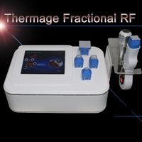 Wholesale thermage for face lifting - Wrinkle Removal RF Thermagic Skin Lifting thermage Microneedle RF Face Body Skin rejuvenation beauty equipment For home use