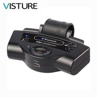 bluetooth динамика рулевого колеса оптовых-Car Bluetooth Handsfree phone call Car Kit Steering Wheel Built in Speaker Mic Visture BT-8109B