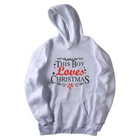 colour hoodie Canada - New Christmas Hoodies With Hat Men Women Colours Hooded Sweatshirts Print Funny Christmas Many Style Clothing