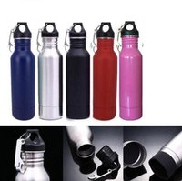 Wholesale cold bottles - Beer Bottles Koozie Keeper Stainless Steel 12oz Cold Insulated Beer Travel Bottle with Bottle Opener Outdoor Gadgets OOA5363