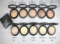 Wholesale skinfinish powder resale online - Makeup Mineralize Skinfinish Natural Press Powder Face Pressed Powder Foundation Poudre De Finition Shipping by ePacked