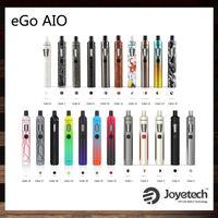 ingrosso kit originale di joyetech-Joyetech eGo AIO Kit con 2.0ml Capacità 1500mAh Batteria Anti-perdita di struttura e Childproof Lock 10th Anniversary Edition 100% Originale