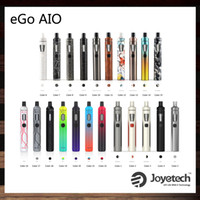 Wholesale ego online - Joyetech eGo AIO Kit With ml Capacity mAh Battery Anti leaking Structure and Childproof Lock th Anniversary Edition Original