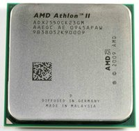 procesadores cpus al por mayor-CPU gratis AMD Athlon II X2 255 procesador 3.1GHz 2MB L2 Caché Socket AM3 Dual-Core piezas dispersas cpu