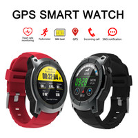 Wholesale Black Fitness Models - GPS Sports Watch S958 MTK2503 Heart Rate Monitor Smartwatch Multi-sport Model Smart Watch for Android IOS Phone
