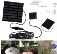 Wholesale water pumps for fountains for sale - Solar Fountain Water Pump for Ponds Bird Bath Solar Powered Fountains Kit for Garden Pool Submersible Fountain Pump KKA4352