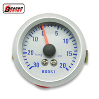ingrosso turbo boost gauge psi-Calibro del drago 52mm Turbo Boost Gauge 20 ~ 30 PSI pressione 0-30 INHG MISURATORE DI MISURA metro Colorato TURBO luminoso Mete