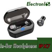 Wholesale joyroom iphone for sale – best JOYROOM IPX7 Waterproof Bluetooth Earphones JM E3 TWS Mini Wireless Earphone Touch Control Hifi Wireless Earbuds Headset for iphone Samsung