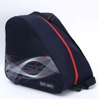 botas portátiles al por mayor-BIG Thick Profesional Ice Ski Snow Boots Bag Skate Helmet Portable Carry Shoulder Bag Antideslizante Para Snowboard Accesorios Negro