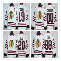 Wholesale brandon saad jersey - 2018 Chicago Blackhawks Jersey 88 Patrick Kane 20 Brandon Saad 19 Jonathan Toews 00 Clark Griswold hockey jerseys