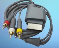 Wholesale microsoft vga for sale - 180CM HD TV Component VGA HDTV Composite RCA AV Video Cables for Microsoft box AV Cables LLFA