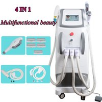 Wholesale salon light hair for sale - Group buy E Light laser hair removal salon equipment q switch nd yag laser tattoo removal machine year warranty