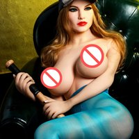 Wholesale girl dolls for adult online - 167cm Artificial Adult female sexy doll Toy Big Boobs Real Vagina American Girl Silicone Sex Doll For Men