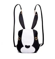 Wholesale Cartoon Boy Girl Hard - Rabbit Nylon Shoulder Bag Korean Fashion Leisure Cartoon Children Bag Creative Personality Backpacks Stylish Travel Backpack