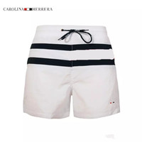 Wholesale relax red - New Fashion Mens Shorts Casual Solid Color Board Shorts Men Summer style Beach Swimming Shorts Men Sports Short