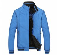 Wholesale Double Collar Coat - New 2016 spring and autumn period and the Double Jacket for BM fashion casual Coat Jackets men Sportswear Size:XL-5XL