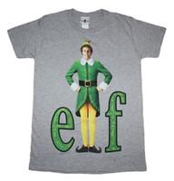 film elves achat en gros de-Elf Movie - Buddy The Elf - T-shirt officiel pour homme