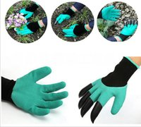 Wholesale Medium Potato - Gardening Gloves for Garden Digging Planting Garden Genie Gloves with 4 ABS Plastic Claws