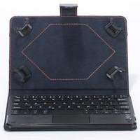 toque de teclado da china venda por atacado-Estojo do teclado universal bluetooth com touch pad teclado removível casos de suporte para android windows tablet pc 7 8 9 10.1 polegada