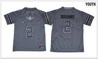 american football-shirt kinder großhandel-Kinder Ohio State Buckeyes # 2 J. K. Dobbins Vintage College Jugend American Football Shirts Pro Trikots Günstige Stitched Stickerei Kostenloser Versand