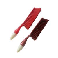 fırça öğütme toptan satış-Toz fırçası Plastik temizleme fırçası masası klavye kanepe zemin mat temizlik araçları DL_HG002
