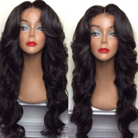 Wholesale Black Women Hair Products - Brazilian hair full lace wig body wave top selling products overnight delivery wigs for black woman