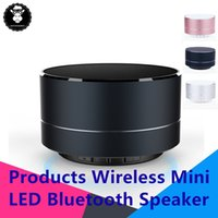 Wholesale usb bluetooth device online - MINI LED Stereo Speaker Portable bluetooth Speaker with Hands free Calling TF Card Slot for any Bluetooth Devices