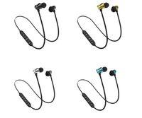 ingrosso lg mp3-XT11 Bluetooth Cuffie Magnetic Wireless Running Sport Auricolari BT 4.2 con microfono MP3 Auricolari per iPhone LG Smartphone in scatola