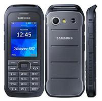 gsm сотовые телефоны двухъядерные оптовых-Восстановленное оригинальный Samsung B550H разблокированный сотовый телефон двухъядерный 2,4 дюйма 2-мегапиксельная камера 1500 мАч 2 г GSM 3 г WCDMA