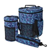 Wholesale sewing beds online - 3 Large Storage Baskets Embroidery Crochet Hook Yarn Knitting Storage Bucket Bag Sewing Kit Bag Pouch Home Organizer
