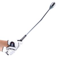 ingrosso pesi di swing-altalena da golf Swing Trainer Swing Straight Pracitce Altalena Altalena Testa regolabile Accessori da golf 65CM