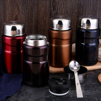 Wholesale Heated Lunch Box - Stainless Steel Thermal Cooker Bottle Cooker Pot Thermal Heat Warm Travel Bottle Vacuum Mug Lunch Box OOA4578