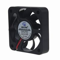 Wholesale axial flow fans - cooler fan 20PCS Gdstime XH2.54-2Pin 5010 5cm 50 x 10mm 50mm DC 12V Axial Flow Cooling Cooler Fan