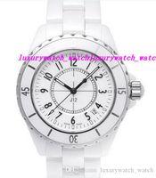 nouvelles montres achat en gros de-Vente chaude Montres De Luxe NOUVEAU H0970 Blanc En Céramique 38mm Automatique Jour NEUF Résistant Aux Rayures Saphir Cool