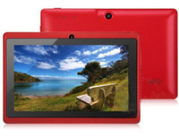 Wholesale Q88 Q8 quot Inch Android A33 Tablet PC Dual Camera GB MB Quad Core Tablet PC DHL Free