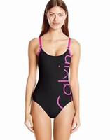 Wholesale european swimwear for women for sale - Sexy Bikini Swimwear for Women European and American New Women s Swimwear Split Letter Red Bikini Swimsuit