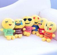 Wholesale Teddy Bear Best Gift - Cute Emoji Cushion Pillow Stuffed Plush Toy Doll Best Friends Emoji Toys Xmas Gifts