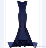 abendkleid halskette großhandel-2018 New Sexy Golden Globe Awards Abendkleid Square Necklace Mermaid Katherine Heigl Roter Teppich Kleid Celebrity Kleider Party Kleider