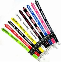 Wholesale cars keychains free shipping - Multicolor Key Lanyard For CAR Sport LOGO Badge ID Holders Mobile Phone Neck Straps