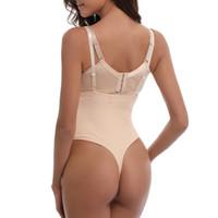 699808370eae1 2018 Sexy Women Corset Slimming bodysuit underwear Shapewear modeling strap  abdomen Girdle Postpartum corset body Shape wear top