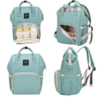 Wholesale plain diapers - 14 Colors Mommy Backpack Diaper Bags Nappies Backpacks Fashion Mummy Maternity Backpacks Outdoor Desinger Nursing Travel Bags