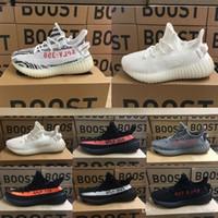 Wholesale Narrow Men Shoes - 2017 Zebra 350 v2 Boost Turtle Dove BZ0256 Boost Red SPLY-350 Backward V2 Men Women Runing Shoes Grey Orange Black Red Whie Green Copper