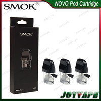 Wholesale cartridge refill kit resale online - SMOK NOVO Pods Cartridges ml Replacement Pod Cartridge for NOVO Kit with Flatter Mouthpiece Side Refilling Design ohm ohm Available