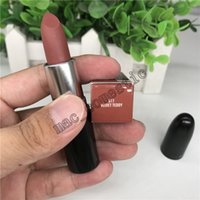 Wholesale 3g water - 1 pcs Top quality AA7 VELVET TEDDY MATTE LIPSTICK M Makeup velvet teddy Lipsticks 3g ROUGE À LÈVRES with English Name 100% real photo
