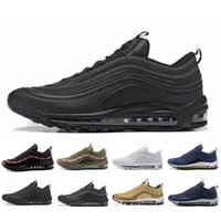 ingrosso scala bianca nera-air designer Nike air max 97 97s  tutte le bilance estive bianche Sneakers bianche OG undefete Man Women Sport Outdoor Scarpe da ginnastica da corsa