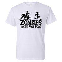 Wholesale green slogans - Summer Men T Shirts Zombies Funny Slogan Top Tees Glowing Swag Short Sleeve Cotton T-shirt O-Neck Casual Print Tshirt Plus Size