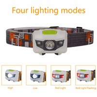 Wholesale Mini R3 LED Mode Lumens Headlamp Portable Head Lamp Lantern For Outdoor Hunting Use AAA Headlight