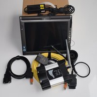 Wholesale tablet code online - WIFI For BMW ICOM NEXT Diagnostic Tool with mini ssd with tablet LE1700 g Replace ICOM A2
