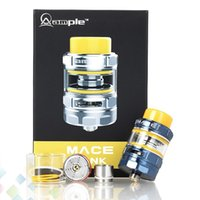 Wholesale f1 metal - Original Ample Mace Subohm Tank Atomizer 2ml 3ml Fit AHC-F1 ADC-F1 Coils with 810 Drip Tip 510 Thread For E Cigarette DHL Free